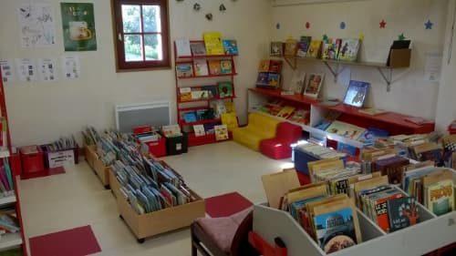 Espace enfant bibliothèque commune de Plomeur
