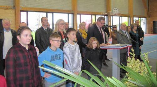 Cérémonie des voeux 2019 présentée par monsieur le maire de Plomeur