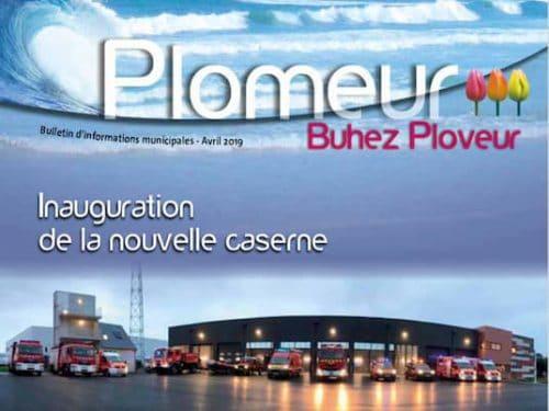 Illustration actualité bulletin municipal 2019 - mairie de Plomeur